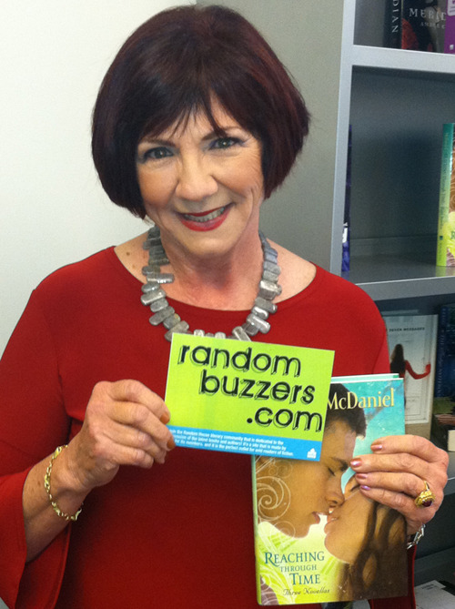 Lurlene McDaniel, showing her love for Random Buzzers!