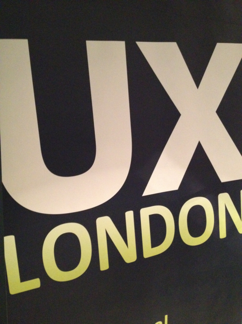 UX London baby!! I'll be posting my thoughts and highlights at the end of each night.