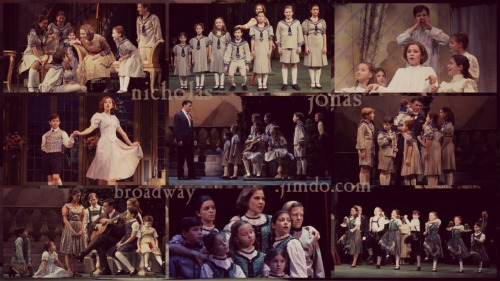 11 year old Nick Jonas as Kurt von Trapp, 'Sound of Music', October 2003.