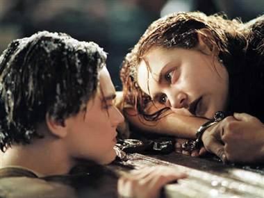 "Did Rose kill Jack by not sharing raft in 'Titanic'? Their hearts went on. But would life have been different if Jack Dawson (Leonardo DiCaprio) had just gotten on the raft with Rose DeWitt (Kate Winslet) at the end of 1997's ""Titanic""? Some folks with extra time on their handsInternet scholars over at Reddit have been doing the calculations, and while photographic experimental evidence appears to say yes, physics calculations say no way. For those with fuzzy memories: At the end of ""Titanic,"" the ship goes down (spoiler!), Rose and Jack end up in the water, and she takes refuge on a pine plank from the ship's Grand Staircase. Jack dangles from the side and they both pass out. When Rose wakes, Jack has frozen to death, half-in and half-out of the water. She is rescued and goes on to live a long, long time. But couldn't they both have fit on that big plank? Fans say yes, and offer up photos of a taped-off section of floor representing the raft, which makes it clear that two grown adults could have fit in the physical space of the plank.  But as Reddit poster Khromatic noted (along with mathematical/physics calculations), they'd both have sunk. He/she wrote: ""As force of gravity is larger than that of buoyancy, Leo and Kate will be swimming with the fishes."" The fate of Rose and Jack has has been well-discussed on the web. Even if there wasn't room on the plank, did an earlier decision by Rose doom Jack?  Askville over on Amazon.com dealt with this one a few years go, when submitter Layyla said her son had a theory about the film: ""If Rose had stayed on the lifeboat she would have been safe and Jack would then have been able to worry only about himself. Jack is a survivor and he would have made it."" Would he? Nobody knows, but those who read the post decided this explanation from 67alecto was best: ""I still see him going down with the ship as opposed to getting on a lifeboat — he still would have let (women) and children go first. But, having gone down and not needing to worry about Rose, I think he'd have had a greater chance of surviving. He (put) her above himself, both literally and figuratively, as she floated out of the freezing water…. I'd give him 75% odds of surviving had he been just looking out for himself."" But it would have made for a very different movie."