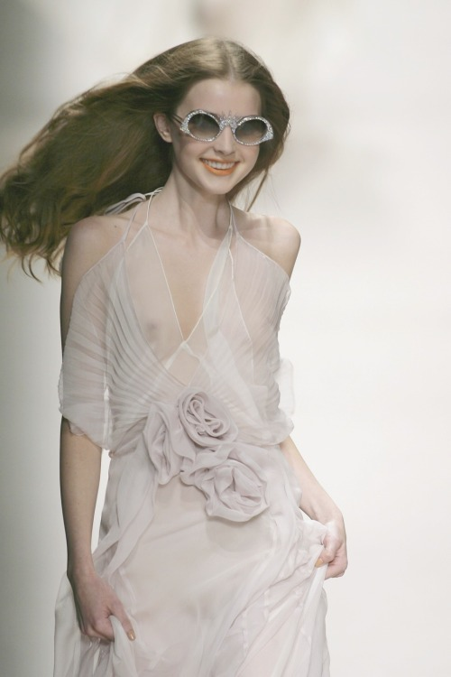 Ali Micheal at Sonia Rykiel spring/summer 2008