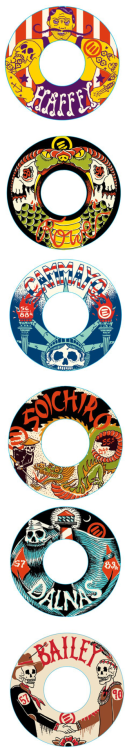My designs for the new Eulogy wheel line.   Very honored to have this opportunity, thanks Eulogy!