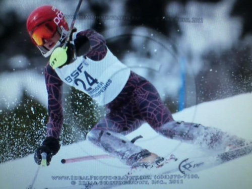 Ohg ski racing man!