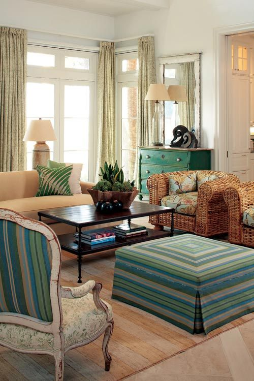 georgianadesign:  Designer Billy Roberts on Sea Island, Georgia. Atlanta Homes & Lifestyles.