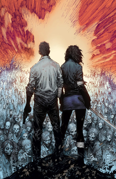 xombiedirge:   The Walking Dead #100 (variant cover) // Marc Silvestri  via:comicartappreciation