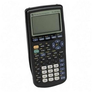 theworstthingsforsale:  In the 15+ years since I owned a TI-83 graphing calculator, wifi has become ubiquitous, we've had four or seven foreign wars (who's counting?) and telephones have gone from football-sized chunks of plastic with twelve pushbuttons to pocket computers with magical touchscreens. The TI-83 has remained the same, including the price. It wasn't so outrageous back in the day, but considering you can get a real laptop for a hundred bucks, $80 is a bit much for this piece of shit calculator that barely plays Space Invaders.