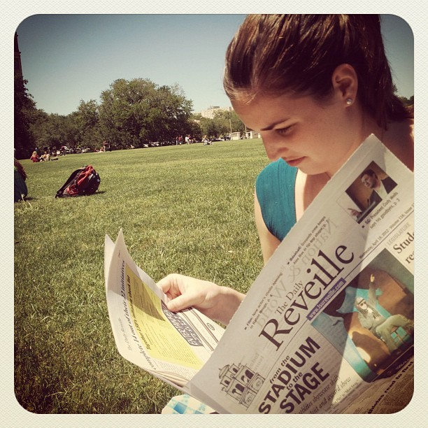 saltwaterandsunshine:  Heidibutt (Taken with Instagram at LSU - Parade Ground)