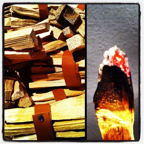 Palo Santo in the shop now care of @loveadorned 😍😘 (Taken with Instagram at Reliquary)
