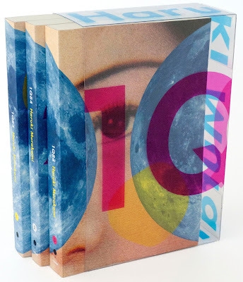 norellojello:  flavorpill:  The 1Q84 paperback boxed set