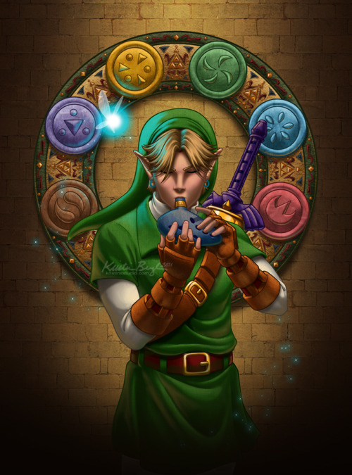 Musician of Time — Link by KrisCynical