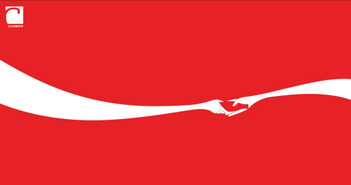 tier10designers:  Creator of Steve Job's Tribute lends a hand to Coca-Cola. link found by Joe