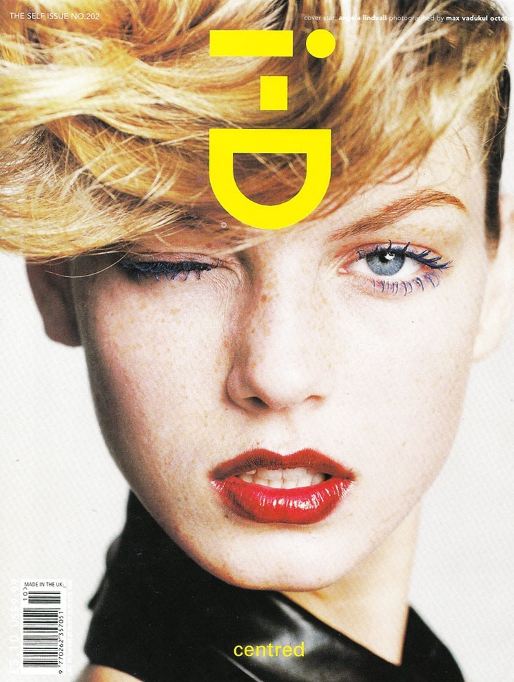 Angela Lindvall for i-D Magazine