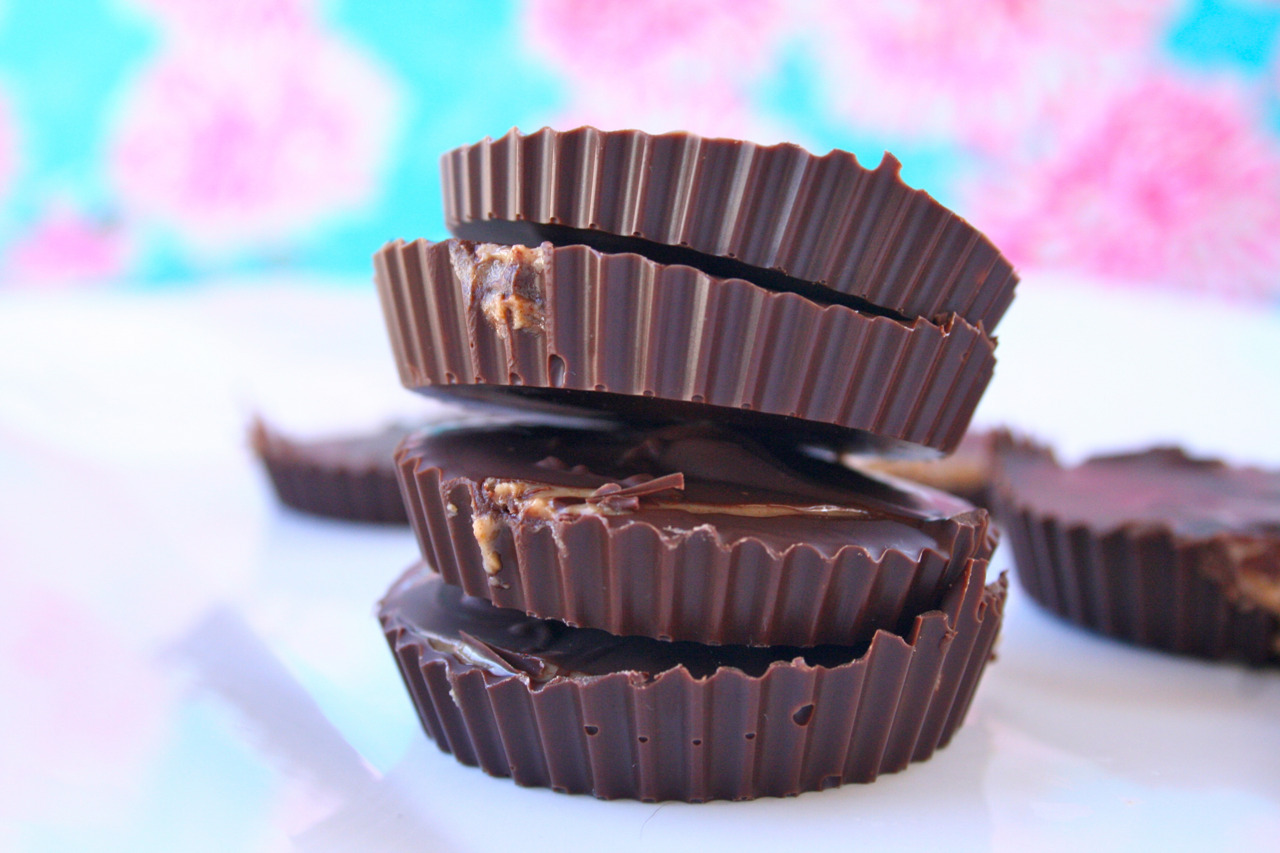 """Home Made Almond Butter Cups photographed (on my back porch) for a publication."" Photo by Jenna A.  Help Jenna win Womply's Favorite Eats Photo Contest by clicking the photo and hitting ""Like""! To learn more about the contest, click here."