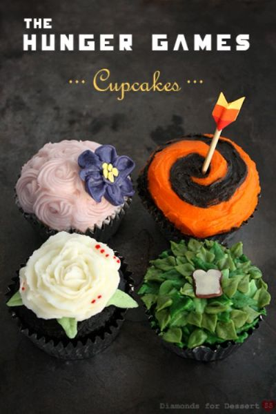 booksdirect:  The Hunger Games cupcakes.