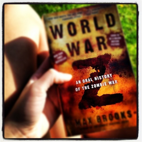 Enjoying the sun with a awesome book!