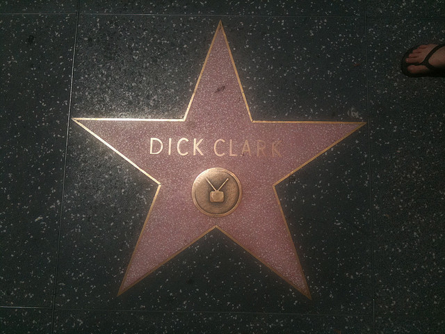 shortformblog:  TMZ reports that iconic presenter Dick Clark has died of a massive heart attack. More info as we get it. (photo by brokentrinkets)
