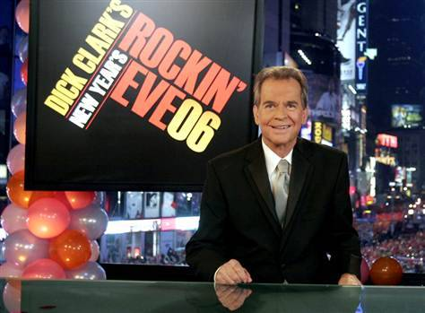 Breaking News: Famed TV producer Dick Clark dies of a heart attack at age 82, reports TMZ.  (AP photo via ABC)