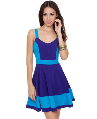 Show off in this pool party dress