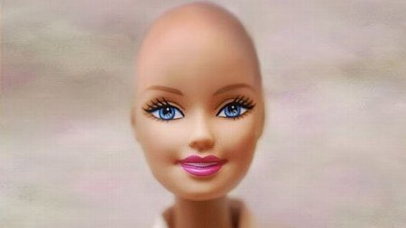 "good:  Bald Barbie Comforts Kids with Cancer: Mattel, the makers of Barbie, announced last month that a hairless ""friend of Barbie"" will ""be distributed exclusively to children's hospitals and other hospitals treating children with cancer throughout the U.S. and Canada, directly reaching girls who are most affected by hair loss."" The decision came after a Facebook group called ""Beautiful and Bald Barbie! Let's see if we can get it made"" scored thousands of ""likes""within hours of its creation. Read more on GOOD.is"