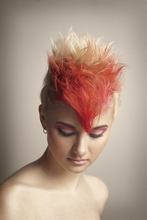 Colour FX Hair Dye Photoshoot