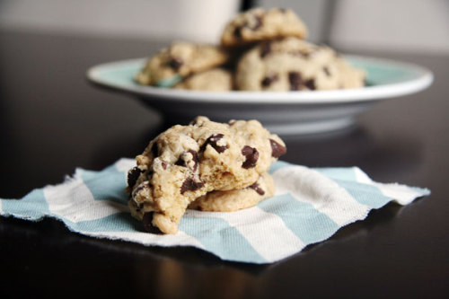bakeddd:  chocolate chip crisper cookies click here for recipe