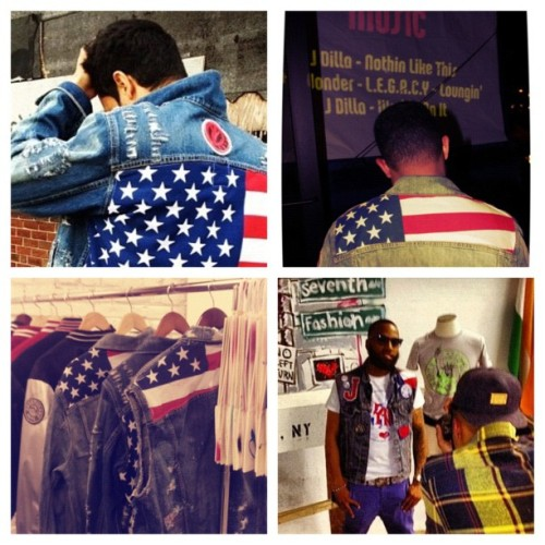 #pledge allegiance to the #swag…. #passport denims  (Taken with instagram)