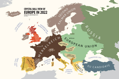 "kingofscandinavia:  papaveri:  yveinthesky:  Crystal Ball View of Europe in 2022 I shouldn't have laughed as loud as I did I feel a little bad ……. ""PASSIVE AGGRESSIVE KINGDOM"" I CAN'T BREATHE ""GERMAN NUDIST SEA"" ""BEACH"" ""NO FISH LEFT HERE"" ""SLEEPY HOLLOW"" ""NORWEGIAN WINDFARM SEA"" so many favourites eoir;hgeario;hgeariohgeariogheraioughverg  ""Catalan Empire""It's an empire because it managed to keep the Balearic Islands from the clutches of the Merkelreich, clearly.  AND I WON'T BE ITALIAN ANYMORE, OOOW.  SECOND KALMAR UNION, FUCKIN' WIN  ºP+KODSJP LMAO"