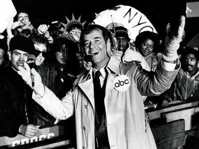 """For now, Dick Clark, so long…"" The world bid farewell to an American cultural icon today, as television host Dick Clark passed away today at the age of 82. Known for his game-changing contributions to pop culture as host of American Bandstand, and a New Years staple as the host of Dick Clark's New Year's Rockin' Eve, Clark has found his way into the households and hearts of generations after generations. America's Oldest Teenager, you will be missed. RIP."