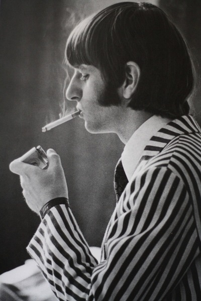 hoonlives:  too-stoned-to-remember:  Ok there's gunna be Ringo smoking spam and there's nothing you can do   oh