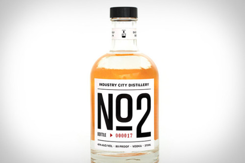 Industry City Distillery No.2 Vodka ($21) is the first spirit from Industry City Distillery, a new City Foundry venture located in Brooklyn's old Bush Terminal. Fermented using beet sugar yeasts, this unique drink is run through a steam powered stripping still before entering a high separation fractional distillation column that offers an unheard of level of control over the final composition, which should have you scrambling to create new recipes to take advantage of the unusual flavor.  ICD is our friend David's undertaking. His team is awesome; their ideas and means of execution (see bold emphasis) are refreshing. I can't wait to try this.