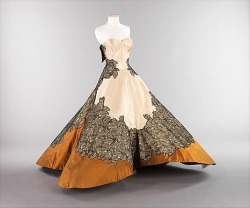 "Dose of vintage: Charles James ""Four Leaf Clover"" dress, 1953."