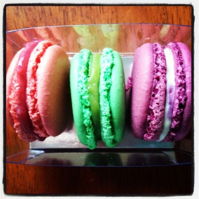 Mmmm macarons from Francois Payard. 😍 #macarons #treat #dessert #snack (Taken with instagram)
