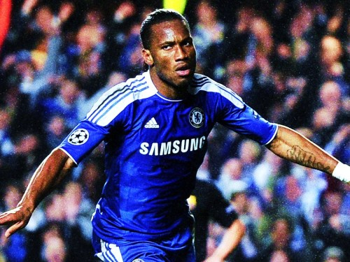 afootballreport:  Didier Drogba, the King of Chelsea? Chelsea 1 - 0 Barcelona - Although the hosts played defensively, a rapid counter-attack finished by their iconic leading man, Didier Drogba, has lit the path to the Allianz Arena for the Champions League final. Barcelona traveled to Stamford Bridge, a ground which has entertained exhilarating Champions League football in recent years between the two teams. Despite a last minute victory 3 years ago courtesy of an unforgettable Iniesta stunner, the defending champions weren't able to replicate their magic in the final third of the field tonight. Lionel Messi endured a frustrating night and has still yet to score against Chelsea. It's true that Barcelona were unlucky not to hit the back of the net, but credit must be awarded to a confident Chelsea who worked from the first to final minute to ensure an unexpected triumph - Abramovich could not hide his delight! The man of the night was Didier Drogba, who has been a dominant star for 'The Blues' since joining in 2003 and presently has been the decisive figure in what may be his final season for the club. Despite a theatrical performance from an imperious player, Drogba worked tirelessly and scored his 155th club goal against the best club in the world. This strike may become historic as Chelsea now have the advantage to reach their second Champions League final in than 5 years, a grand accomplishment which the 'Special One' never achieved. However, all shall be resolved next week at the Camp Nou. Which team do you think will be in Munich in May? Will Chelsea hold on? [posted by DV]