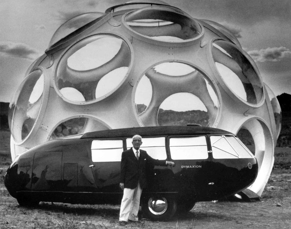 youmightfindyourself:  Buckminster Fuller