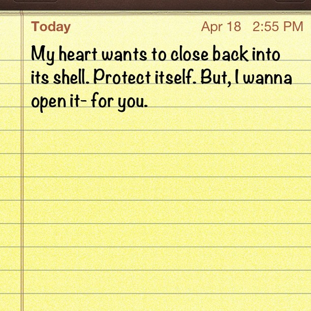 For #you… #gay #love #heart #fear #life #note #instagram (Taken with instagram)