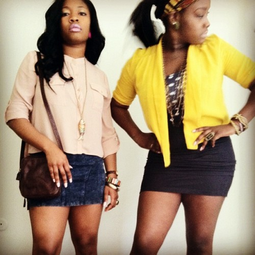 BOSS SH*T! My Babies @staceefash @assshh_alex  (Taken with instagram)