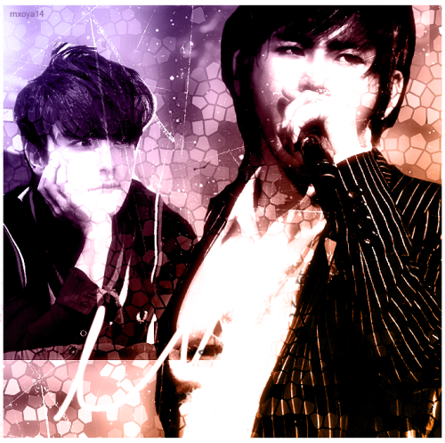 Donghae and Hoya :) made by me.