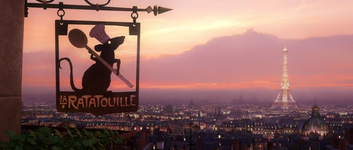 Just finished watching Ratatouille for the zillionth time—what a good way to end the week.   After traveling to Paris, watching the movie was an entirely new experience.  I could actually recognize where certain places in the film took place, and re-watching this movie just made me miss Paris even more.  I miss the Seine, I miss the cobblestone, I miss the food, the language, the air.  I just want to be back.