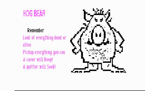 We've gotten a lot of emails requesting that we post about Hogbear. It's a bit of a touchy subject since we don't know if he's technically a bear (maybe part bear?) or if that's just his name…