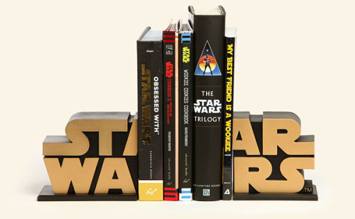 readsmokewrite:  ge-ek:  Star Wars Bookends  Josh Josh Josh :)
