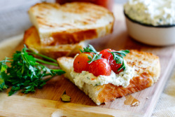 squaremeal:  (via Marinated cherry tomatoes with whipped ricotta on Sourdough - Simply Delicious— Simply Delicious)