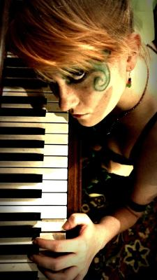 """Play the Piano for Me"" Photography by Jeff LawsonModel: me :D"