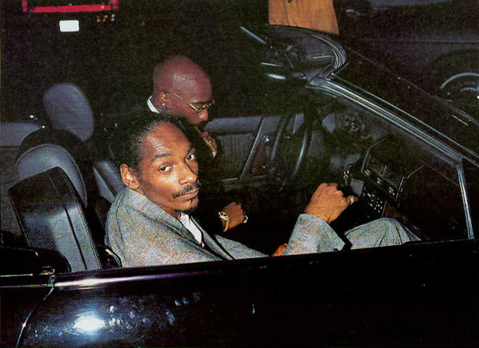 tupacismynigga:  Pac with Snoop :)
