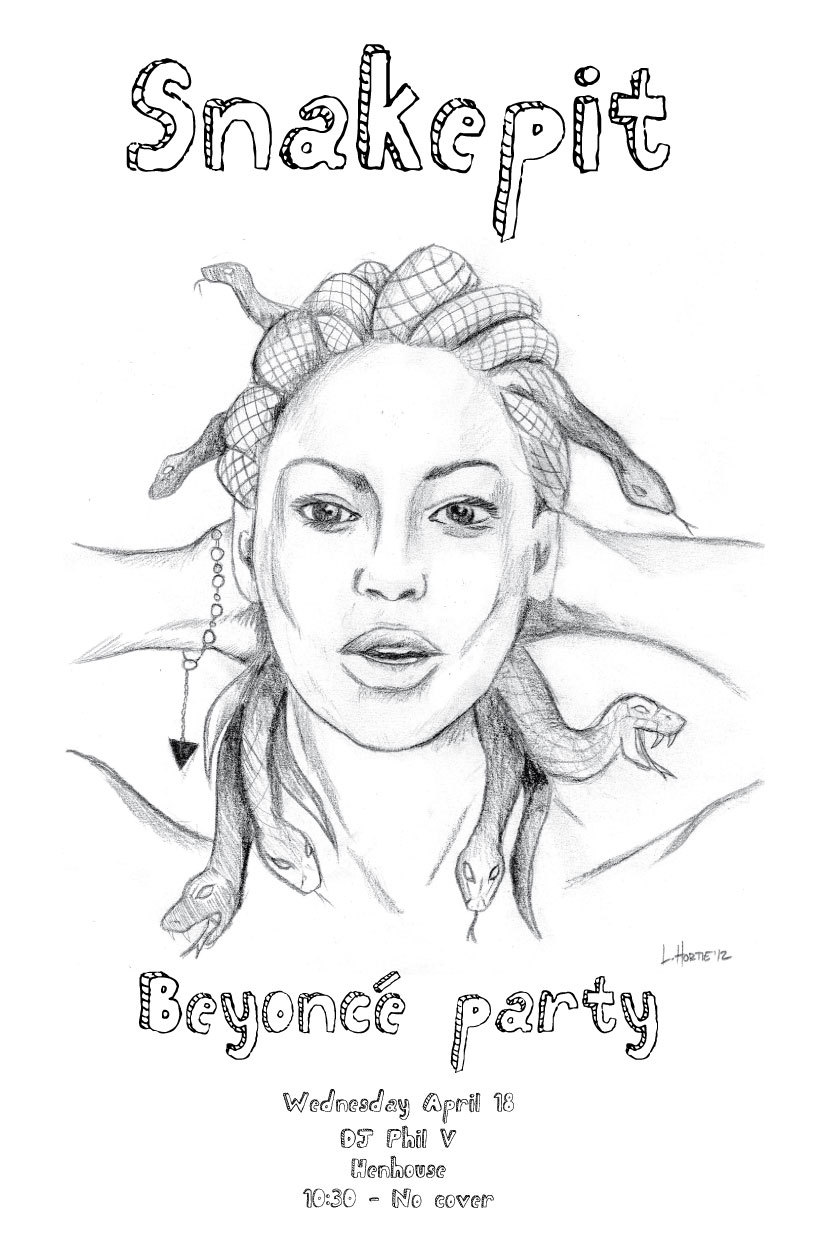 It's Snakepit tonight at the Henhouse and I'm playing nothing but Beyonce Knowles classics. Can't wait to play Kitty Kat!   PXO!