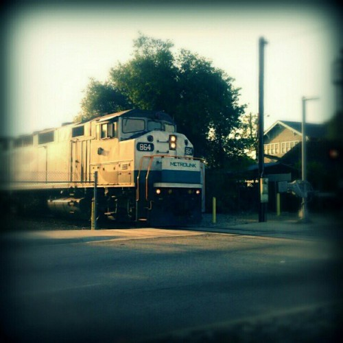 #Metrolink #Train #RanchoCucamonga #Cool #Instagood #iphonesia #Androidsia #Androidography (Taken with Instagram at Metrolink)