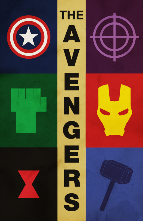 The Avengers by Nick Morrison