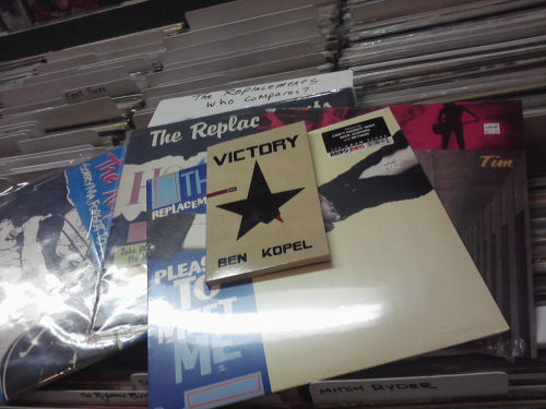 "therepetitiveheart:  poetry for folks serving 25 to life in record stores, no parole, no conjugal visits - Ben Kopel's ""Victory"" from H_NG_M_N BKS  AIN'T LOST YET / SO I GOTTA BE A WINNER"