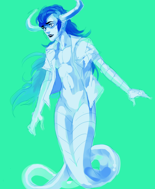 happyds:  Messy Tavriska sketchHeavy on the messyfeerrrgot their sign