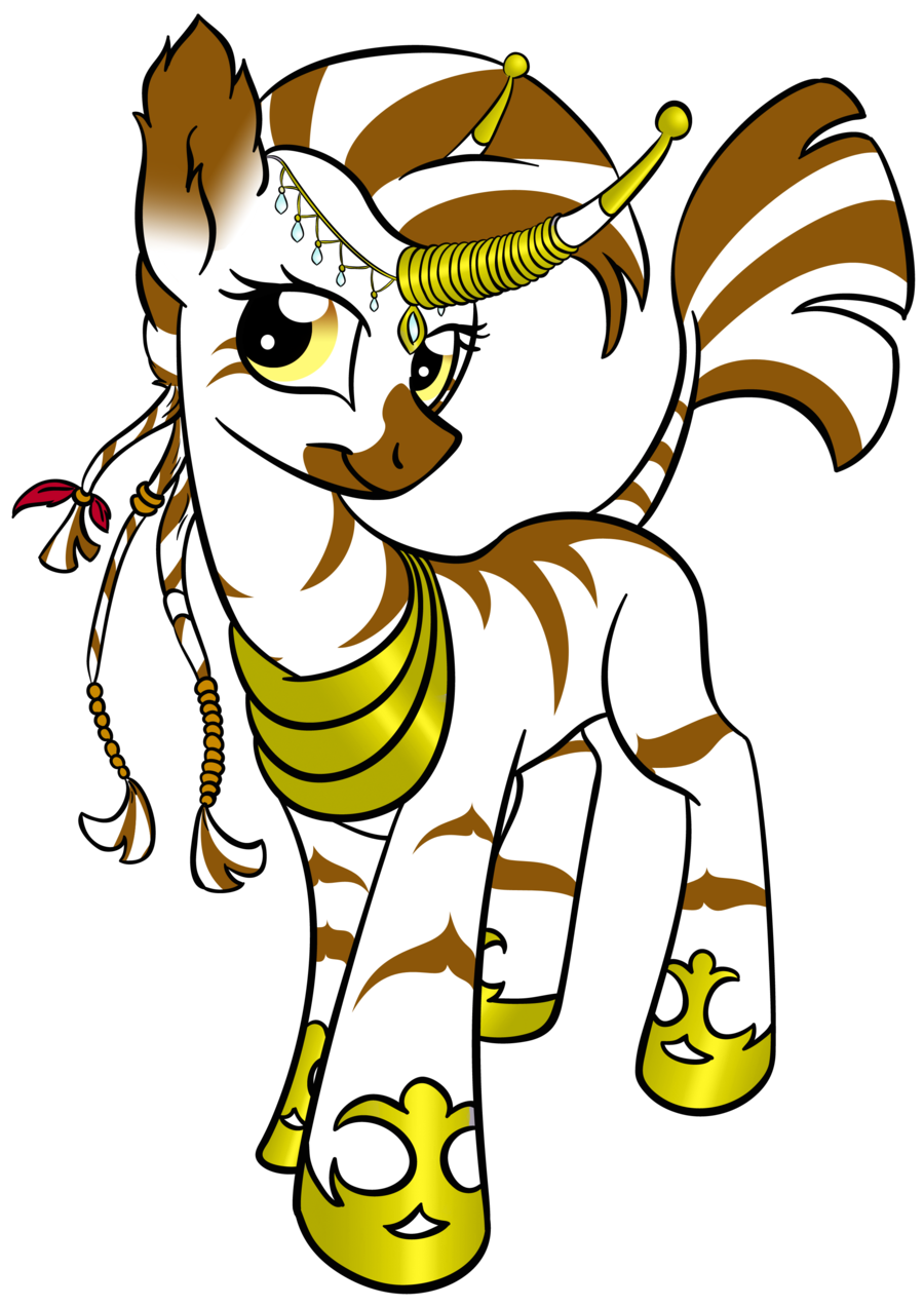 The princess of the faraway land by ~Rannva Of course, pony'd Abada.