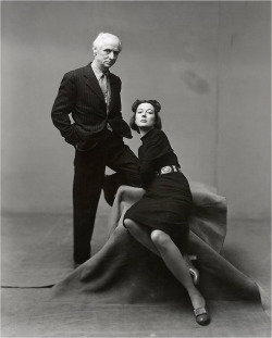 Surrealist painters and artistic couple MAX ERNST & DOROTHEA TANNING photographed by: IRVING PENN